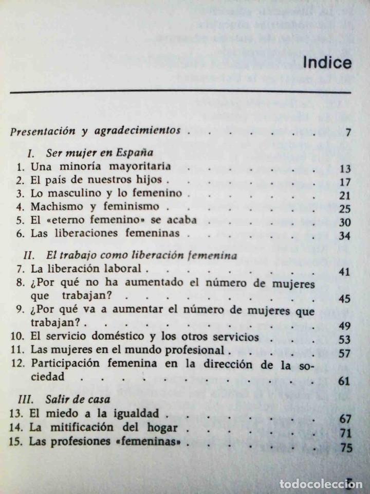Libros: El miedo a la igualdad (Amando de Miguel) Grijalbo 1975. - Foto 2 - 234785885