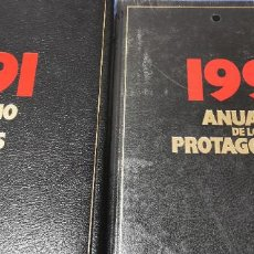 Libros: 2 LIBROS 1991: ANUARIO DE LOS HECHOS Y DE LOS TEMAS DIFUSORA INTERNACIONAL.. Lote 234845350