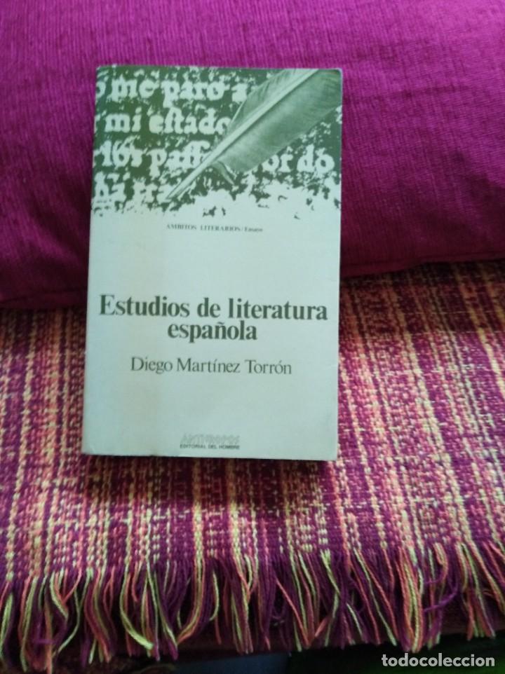 ESTUDIOS DE LITERATURA ESPAÑOLA (Libros sin clasificar)