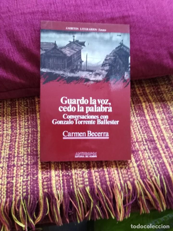 GUARDO LA VOZ, CEDO LA PALABRA (Libros sin clasificar)