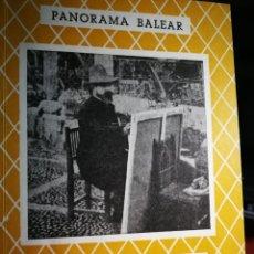 Libros: PANORAMA BALEAR N.º 107 SANTIAGO RUSIÑOL EN EL RECUERDO. Lote 234942220
