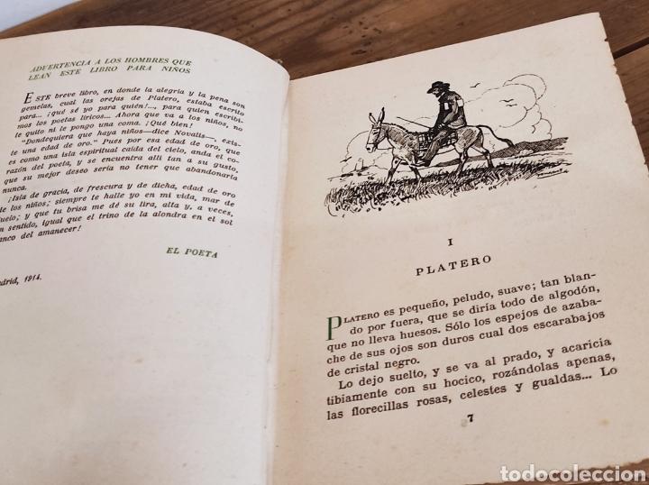 Libros: JUAN RAMON JIMENEZ.PLATERO Y YO.ELEGIA ANDALUZA( 1907-1916). SELECCIONES AIRON. - Foto 3 - 235121065