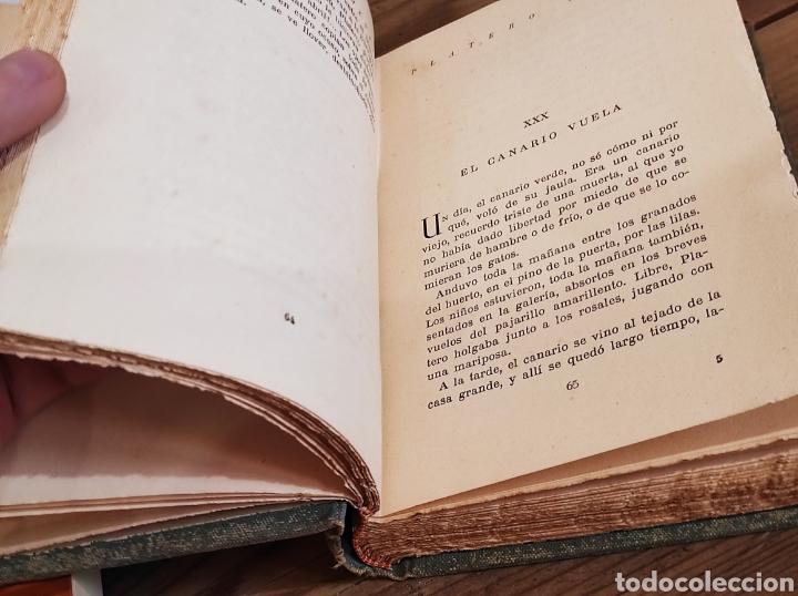 Libros: JUAN RAMON JIMENEZ.PLATERO Y YO.ELEGIA ANDALUZA( 1907-1916). SELECCIONES AIRON. - Foto 4 - 235121065