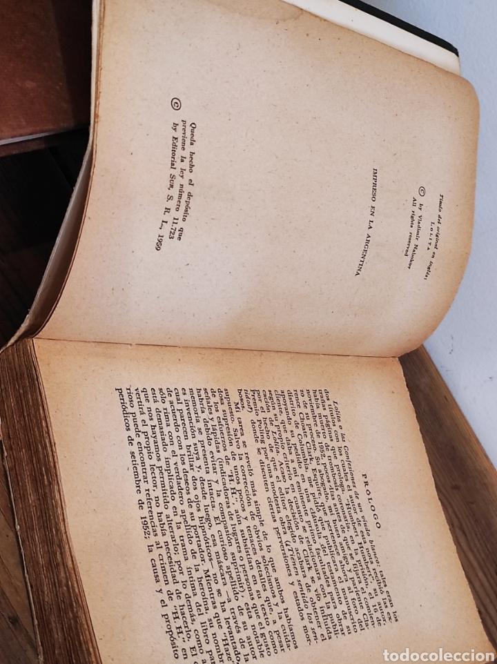 Libros: Lolita. Vladimir Nabokov. Sur. Buenos Aires. 1959. Primera Edición en español - Foto 2 - 235121685