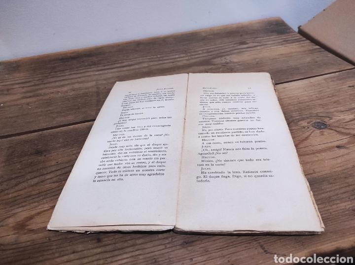Libros: Cuento de amor. Jacinto Benavente. Madrid, 1899 Comedia fantástica de Shakespeare. - Foto 2 - 235130095