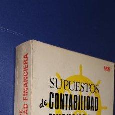 Libros: LIBRO SUPUESTOS DE CONTABILIDAD FINANCIERA JOSE RIVERO. Lote 235166260