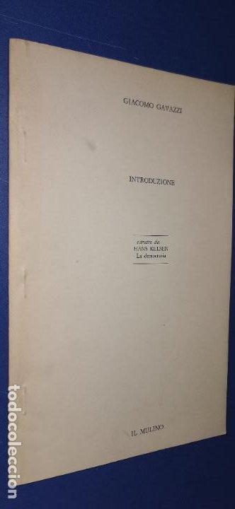 GIACOMO GAVAZZI-INTRODUZIONE ESTRATTO DA:HANS KELSEN LA DEMOCRAZIA (Libros sin clasificar)