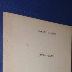 Libros: GIACOMO GAVAZZI-INTRODUZIONE ESTRATTO DA:HANS KELSEN LA DEMOCRAZIA. Lote 235171480