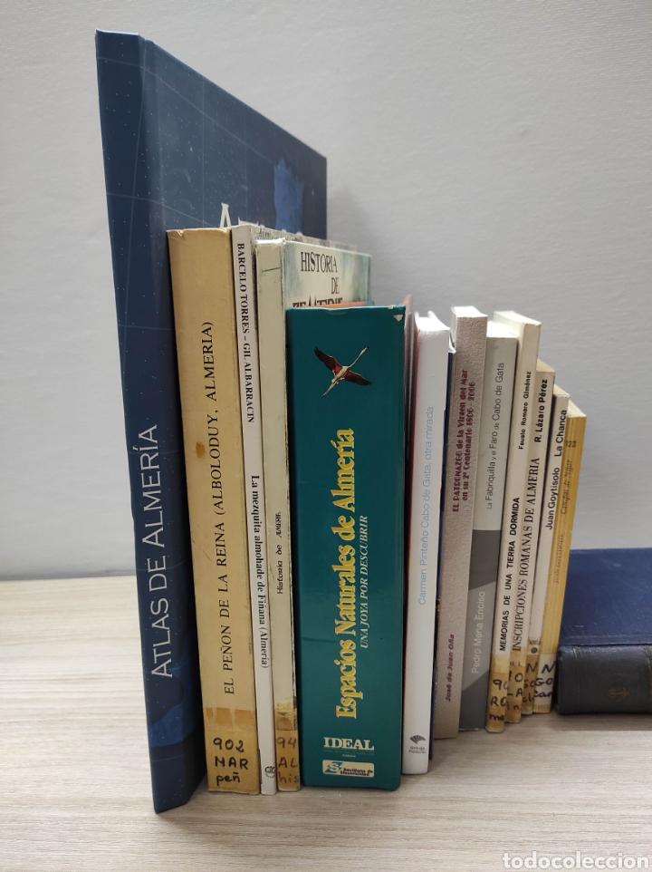 LOTE LIBROS ALMERÍA (Libros sin clasificar)