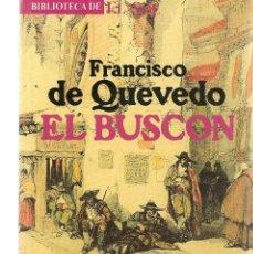 Libros: BIBLIOTECA DE EL SOL. Nº 17. EL BUSCÓN. FRANCISCO DE QUEVEDO. (C/A8). Lote 235300640