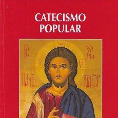 Libros: CATECISMO POPULAR SABER Y VIVIR DEL CRISTIANO - MAXIMO ALVAREZ RODRIGUEZ. Lote 81361779