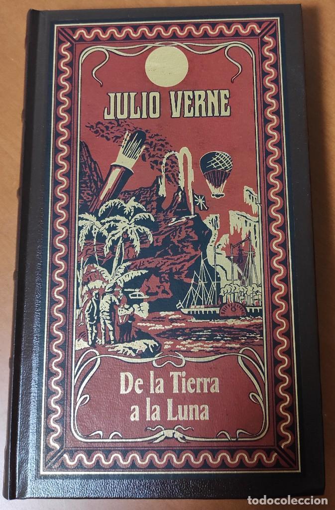 Libros: 8 NOVELAS DE JULIO VERNE (TAPA DURA SIMIL PIEL) (COMO NUEVAS) - Foto 2 - 235336350