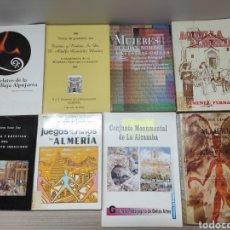 Libros: LOTE 8 LIBROS ALMERÍA. Lote 293709683