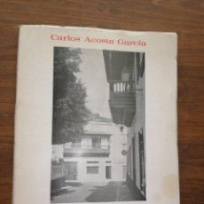 Libros: LOS SILOS: APUNTES PARA LA HISTORIA DE LA VILLA - CARLOS ACOSTA GARCÍA. Lote 235682570