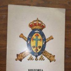 Libros: HISTORIA DW LA ARTILLERÍA EN TENERIFE. Lote 235683365