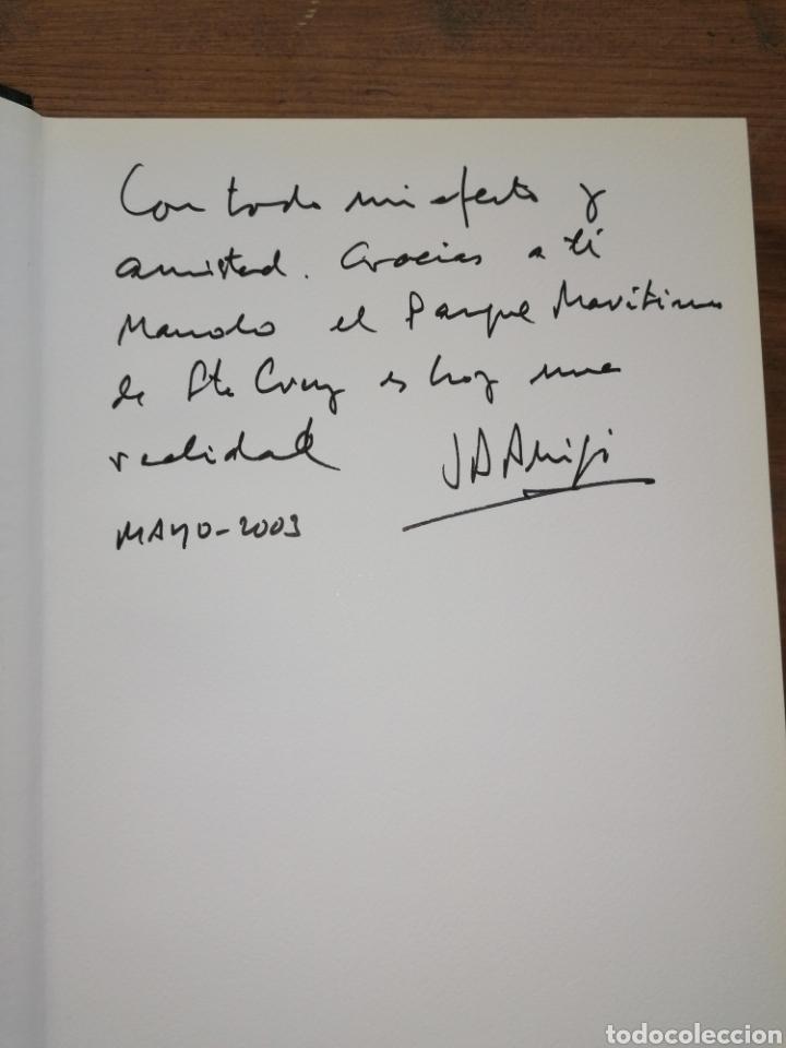 Libros: CÉSAR MANRIQUE - JUNTO AL MAR - PEDRO LASSO - Dedicatoria - Foto 2 - 235685640