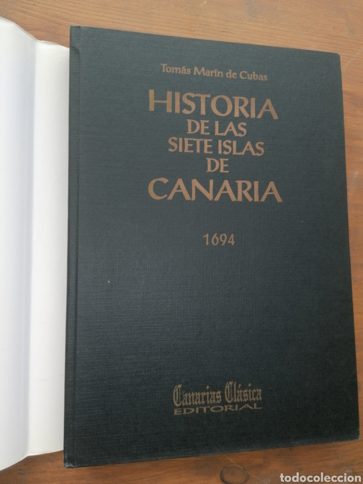 Libros: HISTORIA DE LAS SIETE ISLAS DE CANARIA 1694 - Tomás Marín de Cubas - Dedicatoria - Foto 2 - 235686135