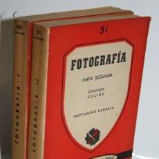 Libros: FOTOGRAFÍA. 2 TOMOS - VALLEJO, FRANCISCO JOSÉ (VERSIÓN Y ADAPTACIÓN). Lote 236226085
