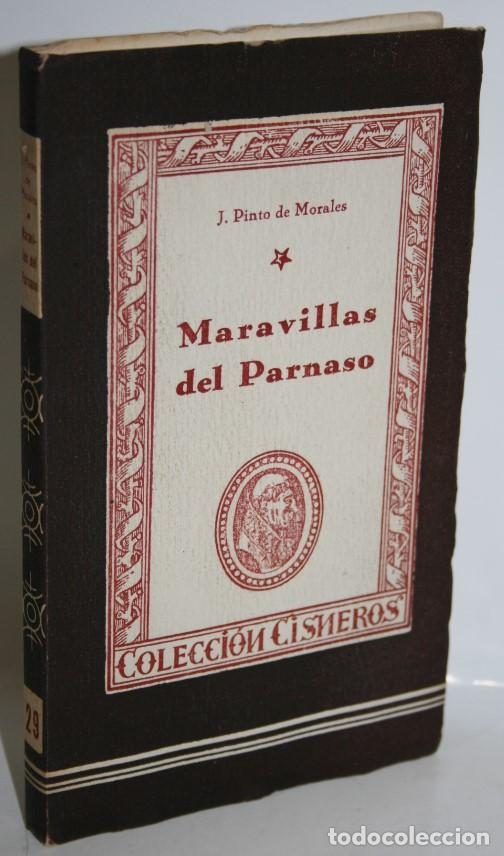 MARAVILLAS DEL PARNASO - PINTO DE MORALES, J. (Libros sin clasificar)