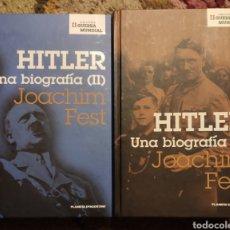 Livres: HITLER. UNA BIOGRAFÍA. JOACHIM FEST. COMPLETO 2 TOMOS. Lote 236235570