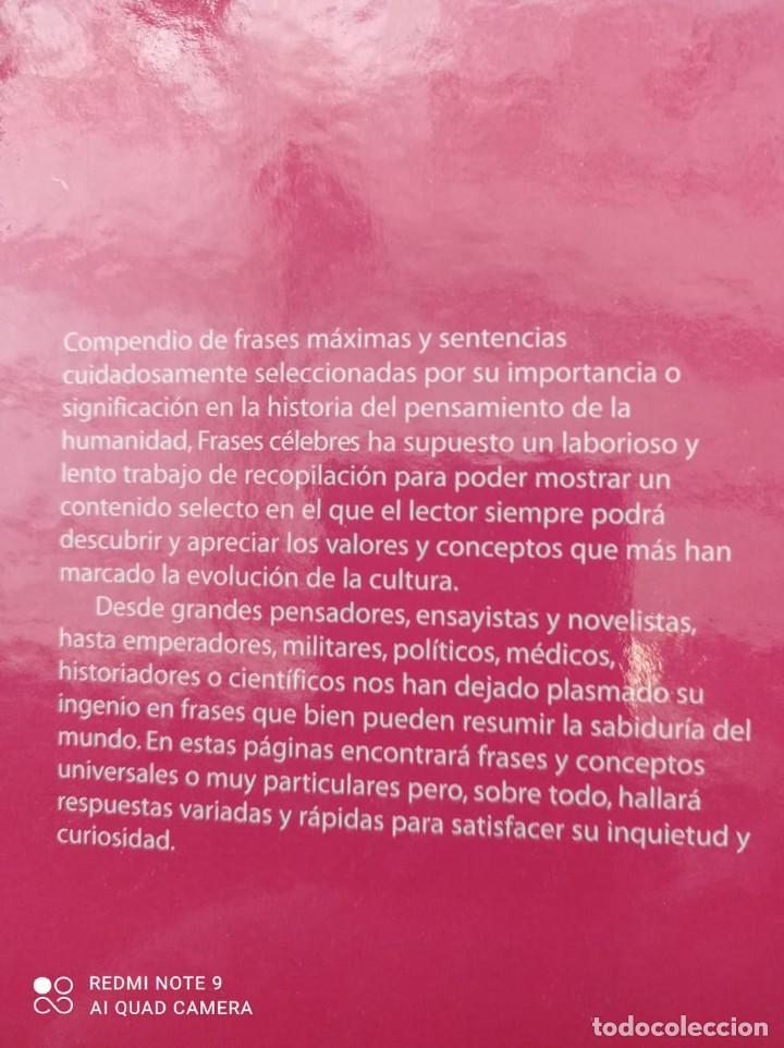 Libros: FRASES CELEBRES - FRANCISCO MARQUEZ - Foto 7 - 236364400