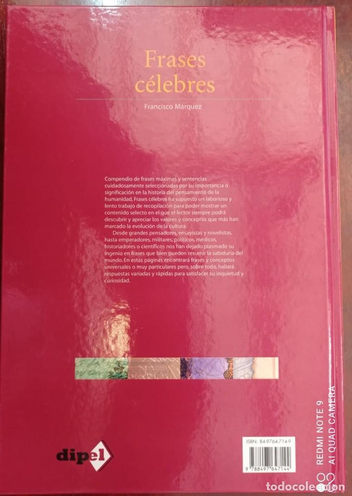 Libros: FRASES CELEBRES - FRANCISCO MARQUEZ - Foto 8 - 236364400