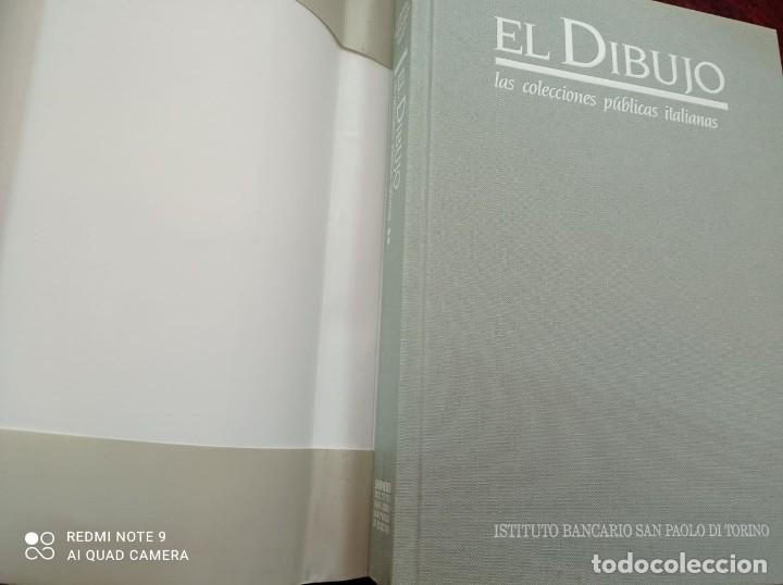 Libros: EL DIBUJO - Las colecciones públicas italianas - Instituto Banc. San Paolo de Torino. - Foto 2 - 236563270