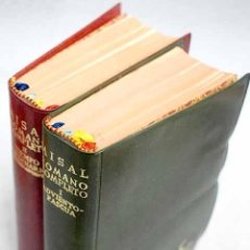 Libros: MISAL ROMANO COMPLETO: TEXTO LITÚRGICO OFICIAL. Lote 236678230