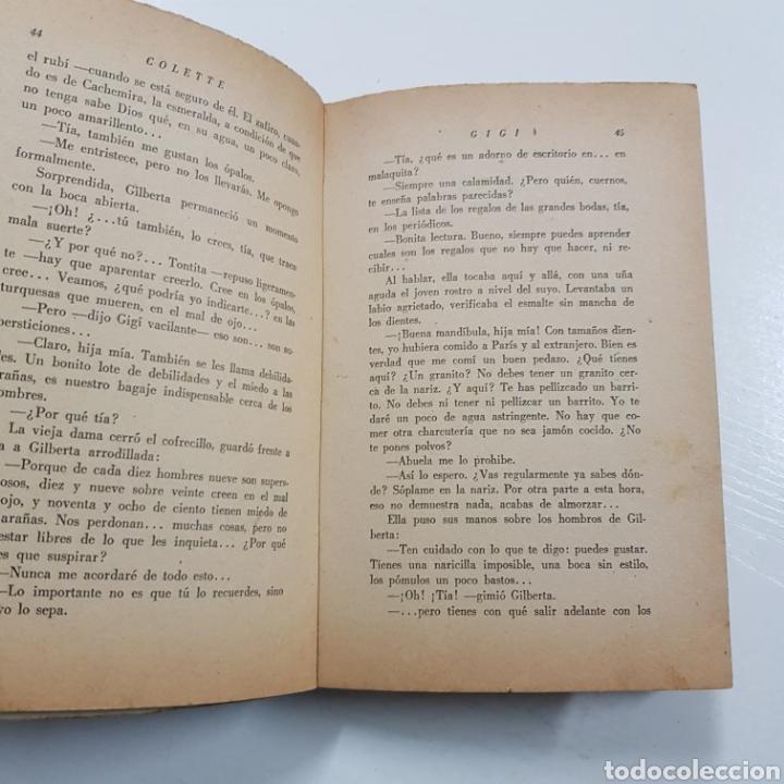 Libros: GIGI - COLETTE 1956 EDITORES PANAMERICANOS - Foto 4 - 236724450