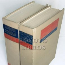 Libros: SCIACCA, M. F. [DIRECTOR]. LAS GRANDES CORRIENTES DEL PENSAMIENTO CONTEMPORÁNEO. PANORAMAS NACIONALE. Lote 236732925