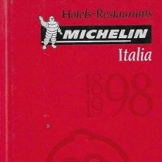 Libri di seconda mano: HOTELS RESTAURANTS MICHELIN ITALIA 1898-1998 - VV AA. Lote 81503656