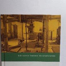 Libros: MOLINOS TRADICIONALES - CARLOS JUNQUERA - BIBLIOTECA LEONESA DE TRADICIONES. Lote 236914065