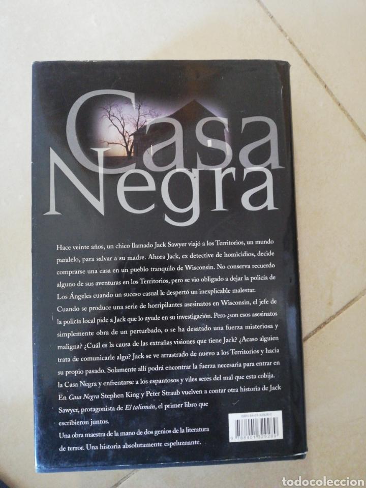 Libros: Casa negra Stephen King y Peter Straub, editorial plaza y Janes (1ra edición) - Foto 2 - 236932540