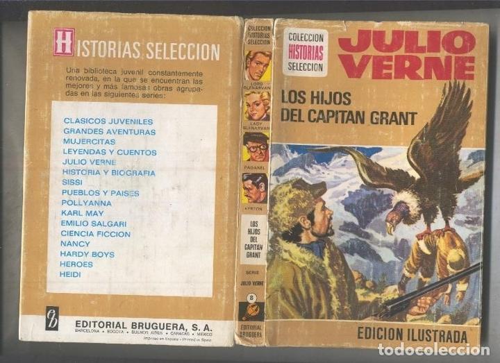 HISTORIAS SELECCION SERIE JULIO VERNE NUMERO 08: LOS HIJOS DEL CAPITAN GRANT (Libros sin clasificar)