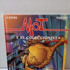Libros: MOT Y EL COLECCIONISTA. AZPIRI NACHO.. Lote 293438893