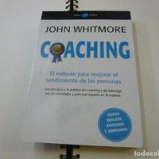 Libros: COACHING - JOHN WHITMORE -N 11. Lote 284393118