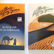Libros: ALBERTO VÁZQUEZ FIGUEROA. TUAREG + ALI EN EL PAÍS DE LAS MARAVILLAS. Lote 237223795