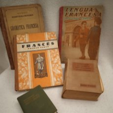 Libros: 5 LIBROS ESTUDIAR FRANCÉS ANTIGUOS. Lote 237414720