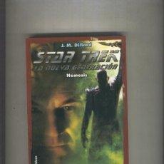 Libros: STAR TREK LA NUEVA GENERACION NUMERO 04: NEMESIS. Lote 237417550