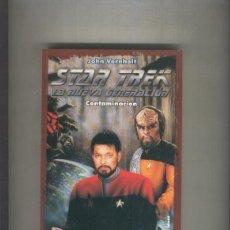 Libros: STAR TREK LA NUEVA GENERACION NUMERO 03: CONTAMINACION. Lote 237417570