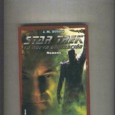 Libros: STAR TREK LA NUEVA GENERACION NUMERO 04: NEMESIS. Lote 237417575