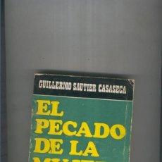 Libros: EL PECADO DE LA MUJER. Lote 237417670
