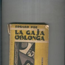 Libros: LA CAJA OBLONGA. CUENTOS. Lote 237417800