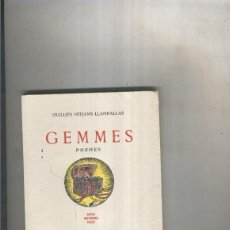 Libros: GEMMES. POEMES. Lote 237417820