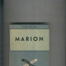 Libros: MARION TOMO I. Lote 237417835