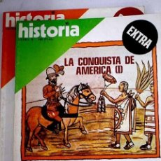 Libros: HISTORIA 16. EXTRA X, XI. LA CONQUISTA DE AMÉRICA. Lote 237603685
