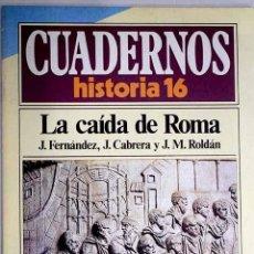 Libros: LA CAÍDA DE ROMA. Lote 237603720