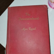 Libros: VENDO LIBRO THE FOUNTAIHEAD AYN RAND 1943. Lote 237752405