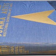 Libros: LMV - SUMMA ARTIS. VOL. XIII (13). ARTE DEL PERIODO HUMANÍSTICO TRECENTO Y CUATROCENTO TERCERA EDIC. Lote 238133625