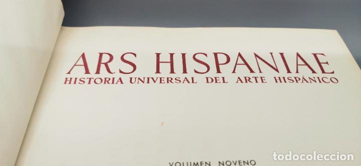 Libros: ARS HISPANIAE. HISTORIA UNIVERSAL DEL ARTE HISPANICO. TOMO IX: PINTURA GOTICA - Foto 3 - 238135650